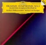 BRAHMS - Karajan - Symphonie n°2 pour orchestre en ré majeur op.73