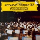 CHOSTAKOVITCH - Rostropovich - Symphonie n°5 op.47