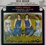REGER - Adorjan - Sérénade pour flûte, violon et alto n°1 en ré majeur o