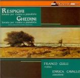 RESPIGHI - Gulli - Sonate pour violon et piano en si mineur P.110