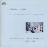 Alt-Bachisches Archiv : Cantates