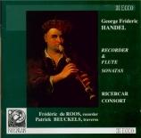 HAENDEL - Ricercar Consor - Sonate pour flûte à bec en do majeur op.1 n°