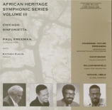 African Heritage Symphonic Series Vol.3