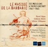 Le masque de la barbarie : des musiciens à Theresienstadt 1941-1945