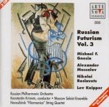 Russian Futurism vol.3