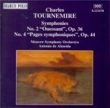 TOURNEMIRE - Almeida - Symphonie n°2 en si majeur op 36 'Ouessant'