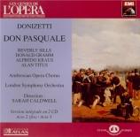 DONIZETTI - Caldwell - Don Pasquale
