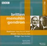 BEETHOVEN - Britten - Trio avec piano op.70 n°1 'Des esprits'