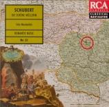 SCHUBERT - Wunderlich - Belle Meunière (La) D.795 (Die schöne Müll