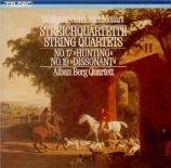 MOZART - Alban Berg Quar - Quatuor à cordes n°17 en si bémol majeur K.45