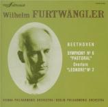 BEETHOVEN - Furtwängler - Symphonie n°6 op.68 'Pastorale' (Import Japon) Import Japon