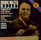 MOZART - Walter - Symphonie n°35 en ré majeur K.385 'Haffner'
