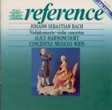 BACH - Harnoncourt - Concerto pour deux violons en ré mineur BWV.1043 'D