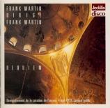 MARTIN - Martin - Requiem (Enregistrement de la création) Enregistrement de la création