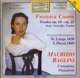 CHOPIN - Baglini - Douze études pour piano op.10