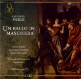 VERDI - Gavazzeni - Bal masqué (Un) (Un Ballo in maschera) Live Milano, 7 - 12 - 1957