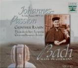 BACH - Ramin - Passion selon St Jean(Johannes-Passion), pour solistes