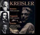 BRAHMS - Kreisler - Concerto pour violon et orchestre en ré majeur op.77 transfers by Ward Marston