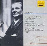 BEETHOVEN - Gaede Trio - Sérénade pour violon, alto et violoncelle op.8