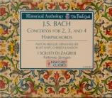 BACH - Janigro - Concerto pour deux clavecins et cordes en do majeur BWV