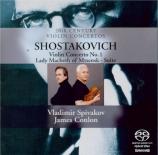 CHOSTAKOVITCH - Spivakov - Concerto pour violon n°1 op.77