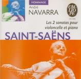 SAINT-SAËNS - Navarra - Sonate pour violoncelle et piano n°2 op.123