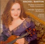 JOACHIM - Barton - Concerto pour violon n°2 op.11 'Dans le style hongroi