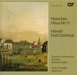 HEINICHEN - Rademann - Messe n°11 en ré