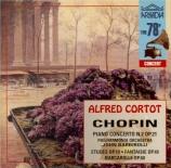 CHOPIN - Cortot - Concerto pour piano et orchestre n°2 en fa mineur op.2