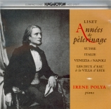 LISZT - Polya - La chapelle de Guillaume Tell, pour piano en do majeur S