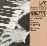 SCHUMANN - Schnabel - Quintette avec piano en mi bémol majeur op.44