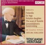 SIBELIUS - Toscanini - Finlandia, poème symphonique pour orchestre op.26 live recordings