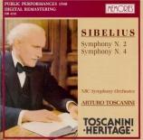 SIBELIUS - Toscanini - Symphonie n°2 op.43 Live New York 7 - 12 - 1940 et 27 - 4 - 1940