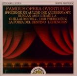 Grandes ouvertures d'opéra