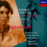 BARBER - Bell - Concerto pour violon op.14