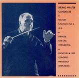 MAHLER - Walter - Symphonie n°4