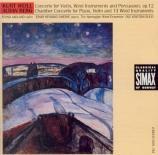 WEILL - Smebye - Concerto pour violon et orchestre à vents op.12