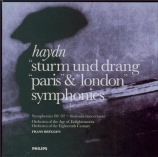 'Sturm und Drang', 'Paris' & 'London' Symphonies