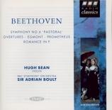 BEETHOVEN - Boult - Egmont op.84 : ouverture