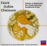 FAURE - Ansermet - Pénélope : prélude pour orchestre