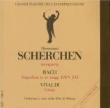 BACH - Scherchen - Magnificat en ré majeur, pour solistes, choeur et orch