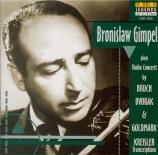 BRUCH - Gimpel - Concerto pour violon n°1 op.26