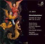BACH - Herreweghe - Schwingt freudig euch empor, cantate pour solistes