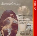 MENDELSSOHN-BARTHOLDY - Maag - Symphonie n°3 en la mineur op.56 'Schotti