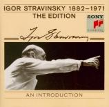 Introduction à l'édition Stravinsky