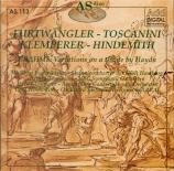 BRAHMS - Furtwängler - Huit variations sur un thème de Haydn, en si bémo