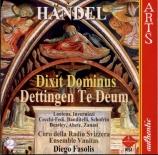 HAENDEL - Fasolis - Dixit Dominus (Psaume 110), psalm setting pour sopra