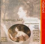 MENDELSSOHN-BARTHOLDY - Maag - Symphonie n°2, pour chœur et orchestre en
