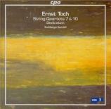 TOCH - Buchberger Quar - Quatuor à cordes n°7 op.15