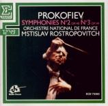 PROKOFIEV - Rostropovich - Symphonie n°2 en ré mineur op.40